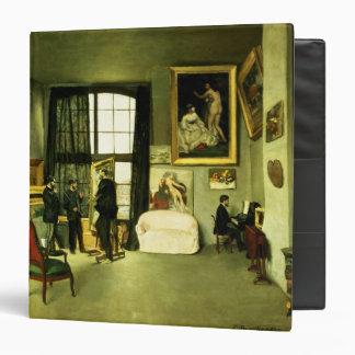The Artist's Studio, 1870 3 Ring Binder