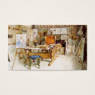 The Artist's Studio Business Card