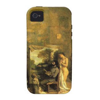 The Artist's Studio by Gustave Courbet Case For The iPhone 4