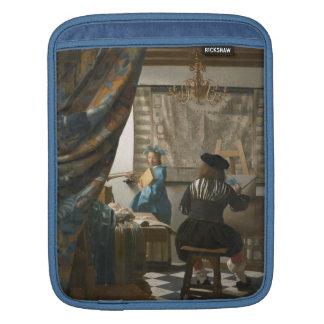 The Artist's Studio, c.1665-66 (oil on canvas) Sleeve For iPads