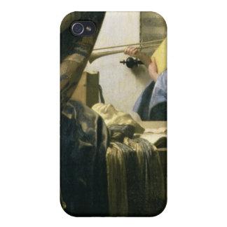 The Artist's Studio, c.1665-6 iPhone 4/4S Cases