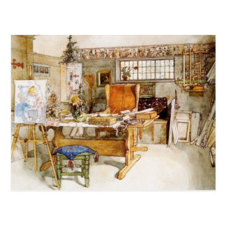 The Artist's Studio Postcard