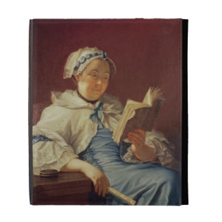 The artist's wife, 1758 (oil on canvas) iPad case