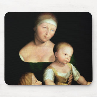 The Artist's Wife and Children, 1528 Mouse Pad