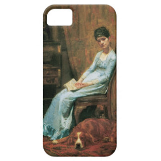 The Artist's Wife and His Setter Dog iPhone SE/5/5s Case