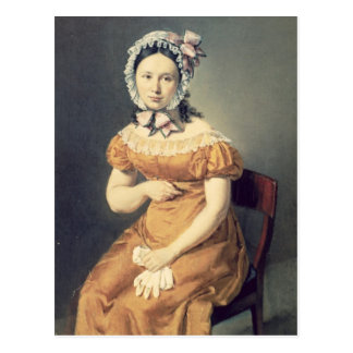 The artist's wife Catharine, 1825 Postcard