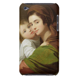 The Artist's Wife, Elizabeth, and their son Raphae iPod Case-Mate Case