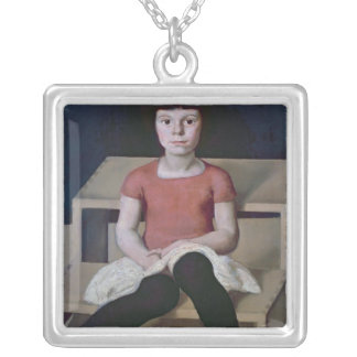 The Artist's Youngest Daughter Silver Plated Necklace