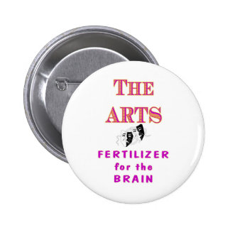 THE ARTS 2 INCH ROUND BUTTON