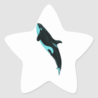 THE ASCENDING ORCA STICKER