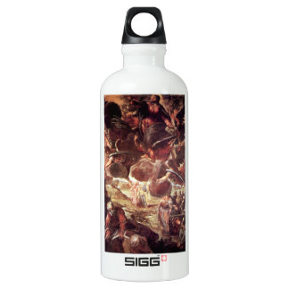 The Ascension 2 by Tintoretto Aluminum Water Bottle