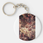 The Ascension 2 by Tintoretto Key Chain