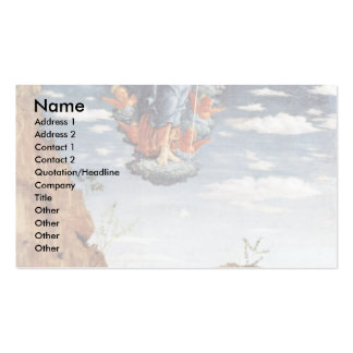 The Ascension By Andrea Mantegna Double-Sided Standard Business Cards (Pack Of 100)