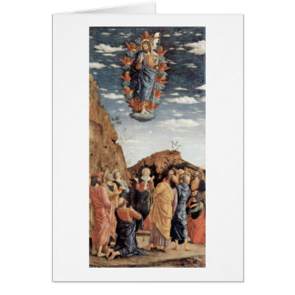 The Ascension By Andrea Mantegna Cards