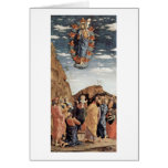 The Ascension By Andrea Mantegna Greeting Card