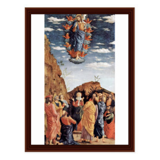 The Ascension By Andrea Mantegna Post Card