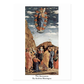The Ascension By Andrea Mantegna Postcard