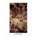 The Ascension By Jacopo Tintoretto Post Card