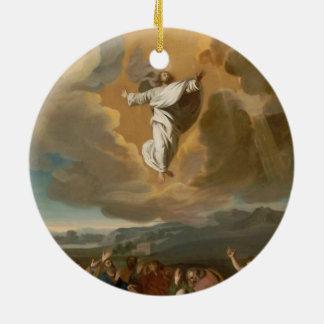The Ascension Ceramic Ornament