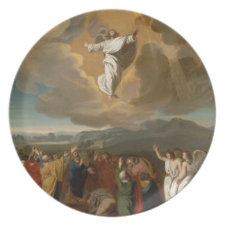 The Ascension Melamine Plate