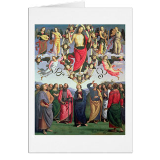 The Ascension of Christ, 1495-98 (oil on panel) Card