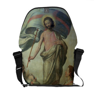 The Ascension of Christ, 1595 (oil on panel) Messenger Bags