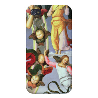 The Ascension of Christ, detail of Christ and musi iPhone 4/4S Case