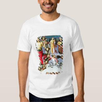 The Ascension of Christ, detail of Christ and musi T-Shirt