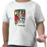 The Ascension of Christ, detail of Christ and musi T-shirts