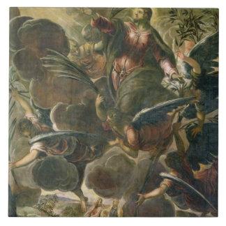 The Ascension of Christ (fresco) Ceramic Tile