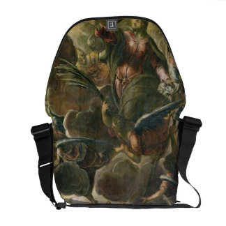 The Ascension of Christ (fresco) Courier Bags