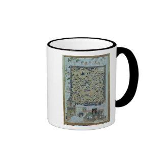The Ascension of Mohammed Ringer Coffee Mug