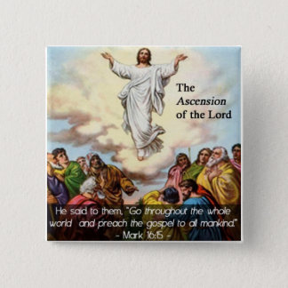 The Ascension of our Lord Button