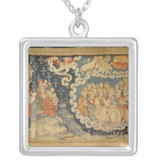 The Ascension of the Lamb Silver Plated Necklace