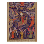 The Ascension of the Prophet Mohammed, Persian Postcard