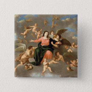 The Ascension of the Virgin Button