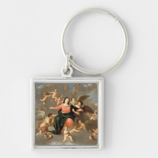 The Ascension of the Virgin Keychain