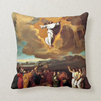 The Ascension - Painting by John Singleton Copley Throw Pillow
