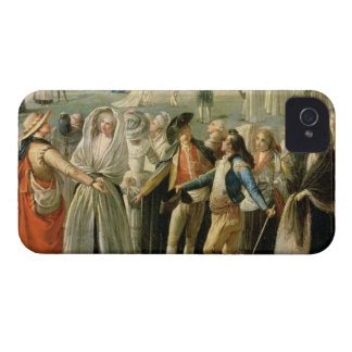 The Ascent of a Hot-Air Balloon in Madrid, detail iPhone 4 Case-Mate Case