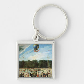The Ascent of the Montgolfier Balloon at Keychain