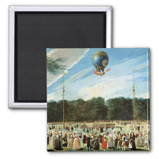 The Ascent of the Montgolfier Balloon at Magnet