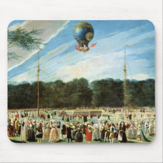 The Ascent of the Montgolfier Balloon at Mouse Pad