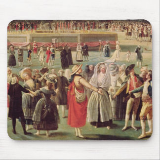 The Ascent of the Montgolfier Balloon Mouse Pad