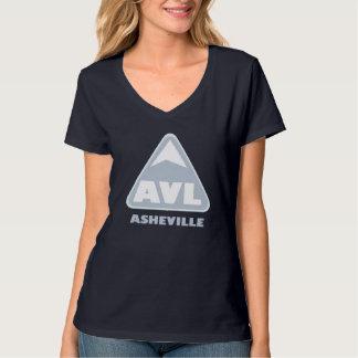 The Asheville Brand V Neck T-Shirt