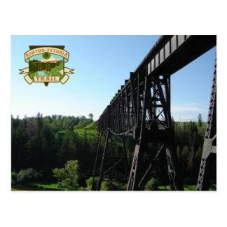 The Ashton-Tetonia Trail An Idaho State Park Postcard