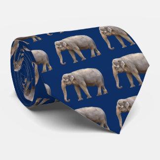 The Asian elephant Tie