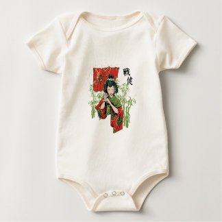 The Asian Umbrella Girl - Zazzle edition Baby Bodysuit