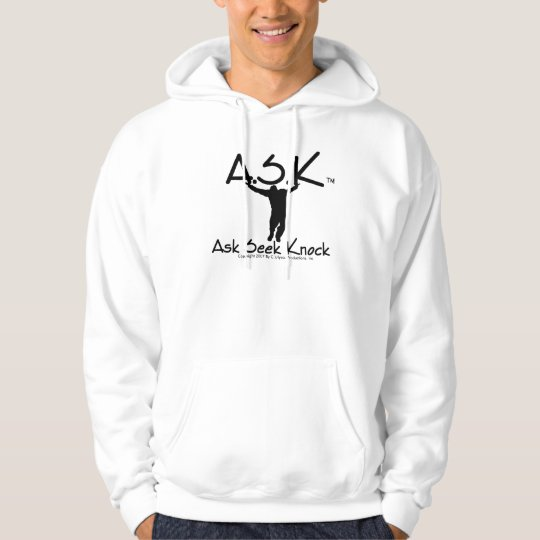 """The """"Ask"""" Hoodie By """"HeOne"""" Brand"""