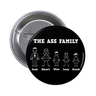 The Ass Family Button
