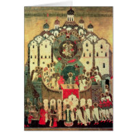 The Assembly of Angels Greeting Card